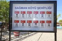 Tunceli'de 12 Sivil Şehit İçin Yapılan Anıt Açıldı