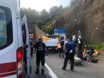 Tünel Girişinde Kaza Açıklaması 1 Ölü, 5 Yaralı