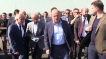 Ulaştırma Ve Altyapı Bakanı Cahit Turhan Manisa'da