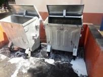 Bağlar'da Çöp Konteynerleri Dezenfekte Edildi
