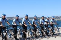Beykoz'da Bisikletli Zabıtalar Görevde
