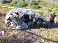 Çankırı'da İki Otomobil Çarpıştı Açıklaması 2 Ölü, 5 Yaralı