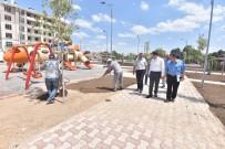 YÜRÜYÜŞ YOLU - Karatay Belediyesinden 8 Bin Metrekarelik Yeni Park