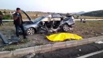 Konya'da İki Otomobil Çarpıştı Açıklaması 2 Ölü, 3 Yaralı
