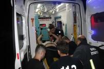 Otomobil Ve Hafif Ticari Araç Kafa Kafaya Çarpıştı Açıklaması 1 Ölü, 2 Yaralı
