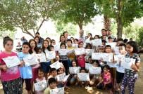 KIMYA - Başkan Bozdoğan, Çocuklarla Birlikte Şarkı Söyleyip, Seramik Boyadı