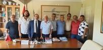 MEHMET ACET - Belediye Kütahyaspor Kulübü Yönetiminden Destek Ve Nezaket Ziyaretleri