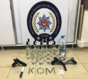 VOTKA - Didim'de Kaçak İçki Ve Uyuşturucu Operasyonu