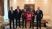 Mustafa Cengiz - Galatasaray Yönetiminden İmamoğlu'na Ziyaret
