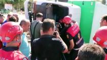ÖZEL HAREKAT POLİSLERİ - Sivas'ta Trafik Kazası Açıklaması 4'Ü Polis 6 Yaralı
