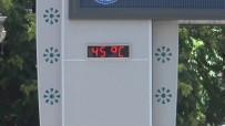 FURKAN DOĞAN - Termometre 45 dereceyi gördü!