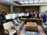 AK Teşkilatlardan Başkanlara Ziyaret