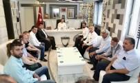 CHP İl Yönetimi, Başkan Kılınç İle Bir Araya Geldi