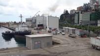 Giresun Liman Sahasında Yaşanan Patlama Paniğe Neden Oldu