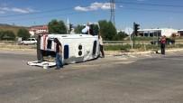 Hasta Taşıyan Ambulans Kaza Yaptı Açıklaması 5 Yaralı
