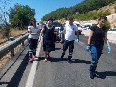 Kazayı İzleyen Sürücü, İkinci Kazaya Yol Açtı Açıklaması 7 Yaralı