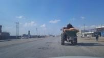 Traktörün Arkasındaki Yolculuk Faciaya Davetiye Çıkardı