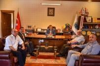 Türkiye Gazetesi'nden Başkan Çatal'a Hayırlı Olsun Ziyareti