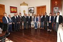 SÜT ÜRÜNLERİ - Vali Öksüz, TÜRSAB Heyetini Ağırladı