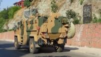 Zeytin Dalı Sınır Kapısı'ndan Suriye'ye Asker Takviyesi
