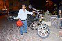72 Yaşındaki Emekli Öğretmen Motoruyla Diyar Diyar Geziyor