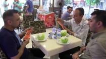 BADEMLI - Külahta Değil Kavunda Dondurma