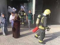 HAC İBADETİ - Mekke'de Filistinli Hacı Adaylarının Kaldığı Otelde Yangın Çıktı