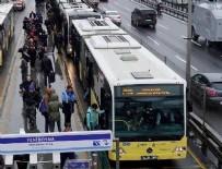 METROBÜS DURAĞI - Metrobüste iğrenç iddia