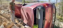Bayburt'ta Trafik Kazası Açıklaması 1 Yaralı