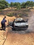 Bingöl'de Park Halindeki Otomobil Küle Döndü