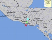 JEOLOJI - El Salvador'da 5.9 Büyüklüğünde Deprem