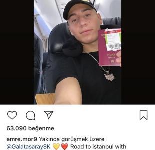 Emre Mor'dan Galatasaray paylaşımı