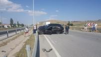 Sungurlu'da İki Otomobil Çarpıştı Açıklaması 4 Yaralı