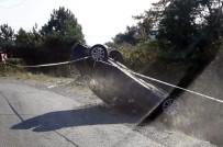 Türkeli'de Otomobil Takla Attı Açıklaması 1Yaralı