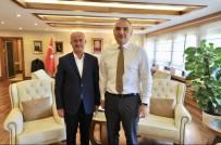 VAN GÖLÜ - Başkan Akman'dan Bakan Ersoy'a Ziyaret
