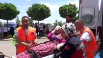 Besni'de 'Afet Acil Durum Saha Tatbikatı' Gerçekleştirildi