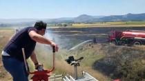Buğday Tarlasında Yangın