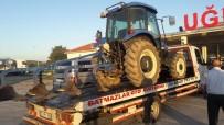Çaldıkları Traktörü İnternetten Satışa Koydular