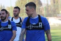 Denenmek İçin Hatay'a Getirilen 3 Futbolcu Antrenmanlara Katıldı