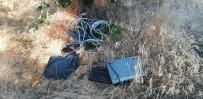 Elektrik Direğinden Kablo Çalarken Yakalandı