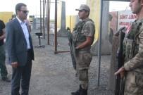 JANDARMA ASTSUBAY - Kaymakam Uzan'dan Jandarma Uygulama Noktasına Ziyaret