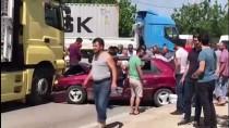 Kocaeli'de Trafik Kazası Açıklaması 5 Yaralı