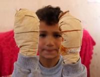 Komşu Çocuğu, Küçük Efe'ye Dehşeti Yaşattı
