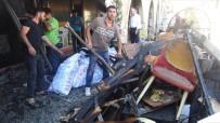 Şanlıurfa'da Kafede Çıkan Yangın Korkuttu