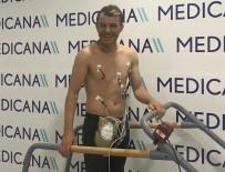 Sivasspor'da Kaptan Ziya, Sağlık Kontrolünden Geçti