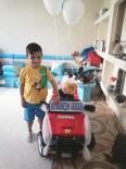 7 Yaşındaki Muhammed Akülü Arabasına Kavuştu