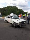 Aşkale'de Feci Kaza Açıklaması 5 Yaralı