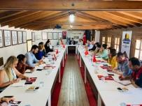 Hatay'da BM Dünya Gıda Programı Temsilcileri İle Mültecilere İlişkin Bilgilendirme Toplantısı