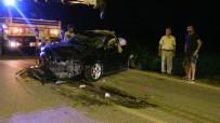 Samandağ'da Trafik Kazası Açıklaması 2 Yaralı