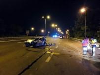TEM'de 3 araç birbirine girdi: 5 yaralı